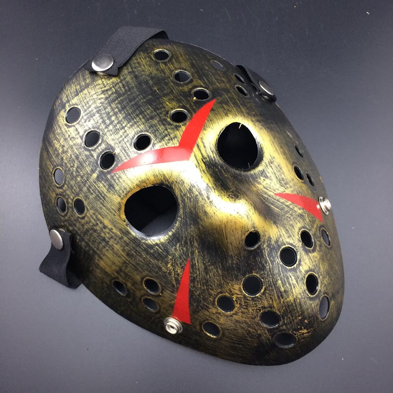 Halloween Hockey Masker.Angrly Make Old Cosplay Halloween Mask Jason Voorhees Freddy Hockey Festival Party Halloween Masquerade Mask