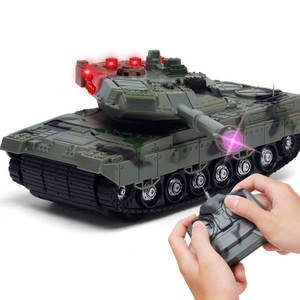 Rc-Tank Cannon Light Rc-Cars with 360-Degree Rotation for Children Boy Gift Gift