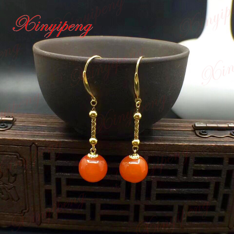 xin-yi-peng-18-fontbk-b-font-fontbyellow-b-font-fontbgold-b-font-inlaid-natural-agate-drop-earrings-