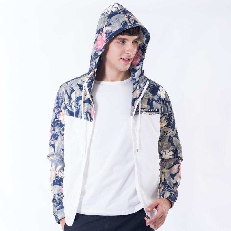 HTB1RRyXXdW5K1Rjt XBq6ysuFXaR Drop Shipping Florals Bomber Jacket Men Hip Hop Slim Fit Flowers Pilot Jacket Coat Men's Hooded Jackets US Size Free Shipping