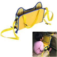 Водонепроницаемый Автомобильный поднос для сиденья, аксессуары для детской коляски, детское автокресло, переносное детское кресло для еды, закуска, игровой поднос для путешествий, закуски и планшеты