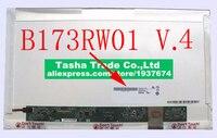 100% test ltn173kt01 02 17.3 HD MATTE LED LCD matrix Screen For HP Pavilion G7 B173RW01 V.2 V.4