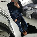 iEASYSEXY 2017 Casual Velvet Women Sets Series Fashion Warm Home Wear Autumn New Style Long Tracksuit For Women For Size S-XL