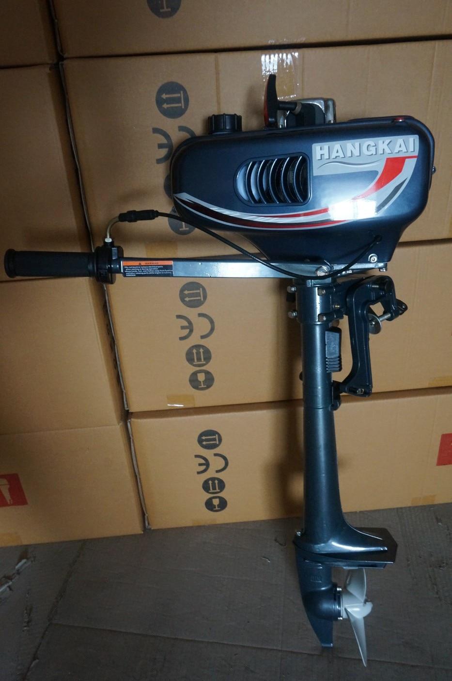 Facotry Sale Hangkai 2 stroke 3.5HP boat engine outboard motors