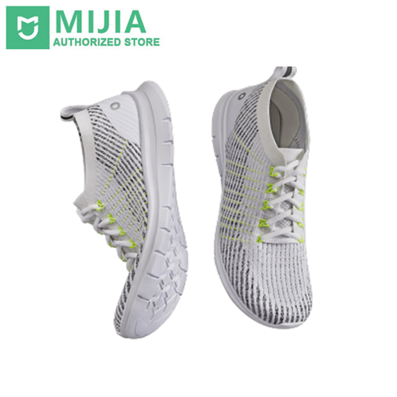 2019 Xiaomi Amazfit Pro Sneaker Shoes Ultra Light Bacteriostatic Fly Weaving EVA 360 Degree Bending For
