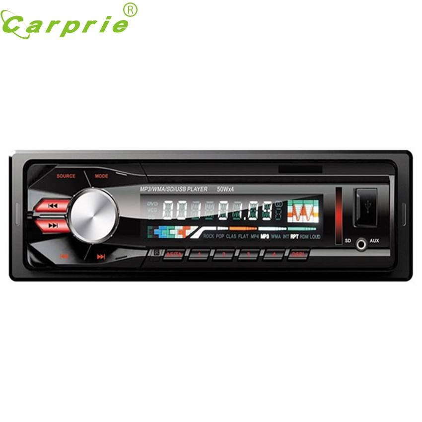 CARPRIE Super drop ship Car Audio Stereo In Dash Fm Receiver With Mp3 Player USB SD Input AUX Receive Mar713