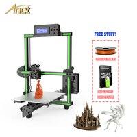 Upgrade Anet E2 FDM 3d Printer Kit Easy Assembly Delta 3d printer Prusa i3 DIY Kit impresora 3D with PLA Filament 3D Printer