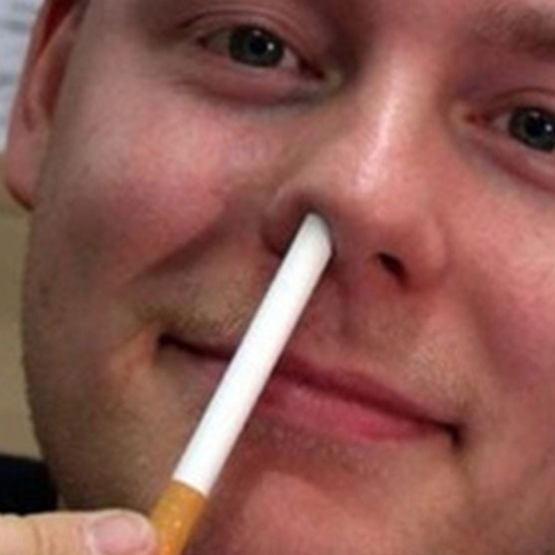 Stage Close Up Magic Trick Disappear Cigarette Breathe Into Nose By Gary Kosnitzky Close-up Stage TV Show