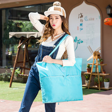 QIUYIN Large Casual Waterproof Travel Bag Clothes Capacity Shoulder Foldable Handbag Duffle Promotion