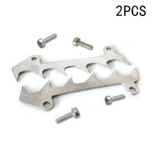 Image 1 - 2 peças de corte pára choques spike + parafusos para stihl 017 018 021 023 025 ms170 ms180 ms210 ms230 ms250 peças reposição ferramentas para trabalhar madeira
