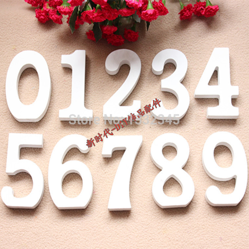 1pcs number letters love letters home decor Wall letters decor