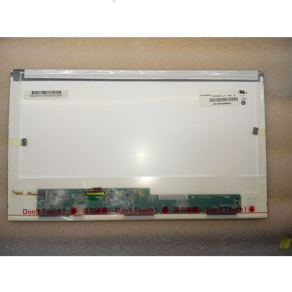 New 15 6 N156BGE L11 Matte Laptop LCD Screen LED Display Matrix 40Pins Resolution 1366x768 Replacement