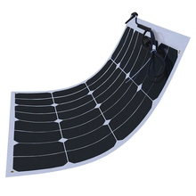 50W solar panel for Golf Car Patrol Car Travel Tourism Car Yacht Roof Power station Backpack
