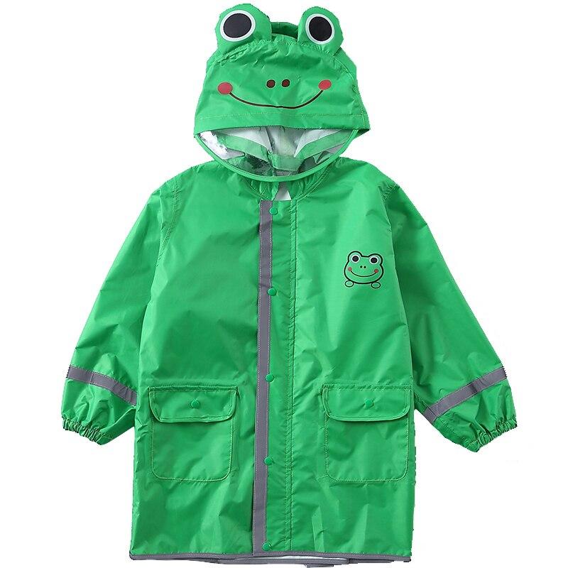 Enfants bébé manteau de pluie 90-145 CM imperméable imperméable pour enfants Poncho garçons filles école primaire étudiants pluie Poncho veste Z793