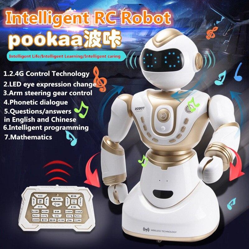 Robot de conversation Intelligent robot d'interaction 2.4G bon choix présenter un cadeau aux enfants jouet