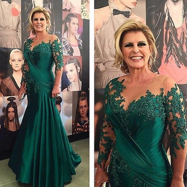 Vestidos de novia con color verde