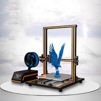 Anet E16 E12 E10 Large 3D Printer High Precision Dual Y Axis Guide Rods Prusa I3 Desktop 3D Printer Impresora 3d with Filament