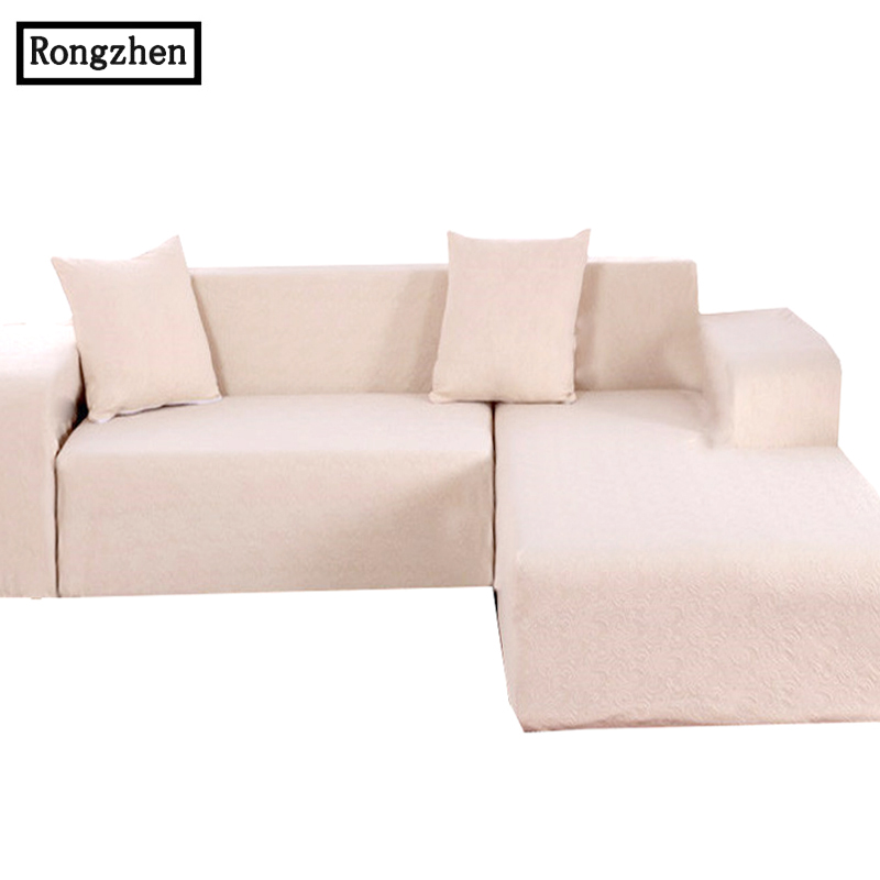 Case Sofa Cover Jacquard Corner Couch Modern Sectional Universal L Shaped  Sectional Leather Stretch Sofa Cover