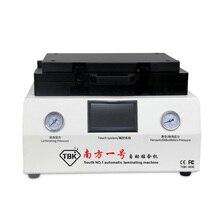 TBK opłacalne automatyczne maszyny do laminowania i usuwania bańki nie trzeba podłączyć sprężarki powietrza i pompa próżniowa 100% nie bubble