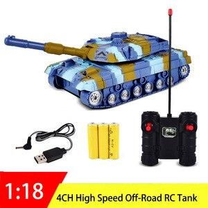 4CH RC Tank 1:18 Remote Contro