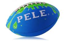 Size 9 Outdoor Sport Rugby Ball Neoprene Soft Balls for Child Kids Young Men Women Safety Football Ball