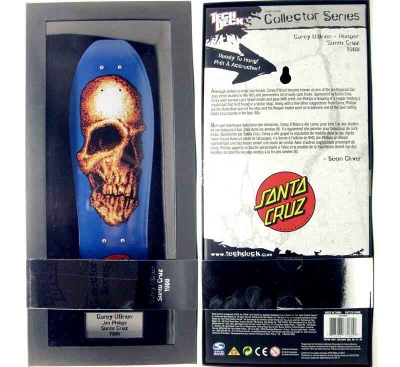 NEW fingerboard Tech Decks Collector Series 10 inch size display skateboard