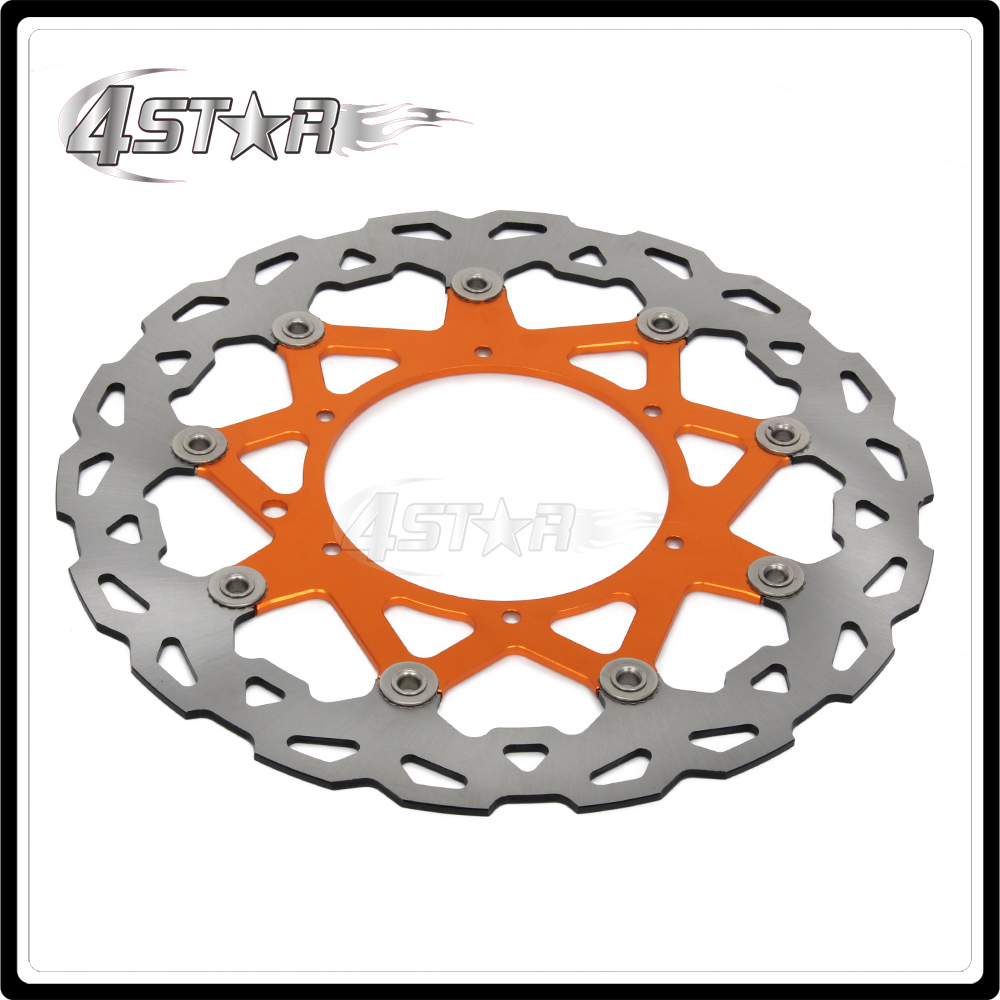 320MM Oversize Front Floating Brake Disc Rotor For EXC GS EXCF SX SXF SXS XC XCR XCW XCF XCRF MXC MX SMR SIX DAYS Supermoto keoghs real adelin 260mm floating brake disc high quality for yamaha scooter cygnus modify