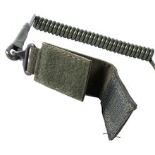 Hunting Strap Airsoft Tactical Single Point Pistol Handgun Spring Lanyard Sling Quick Release Shooting Army Combat Gear