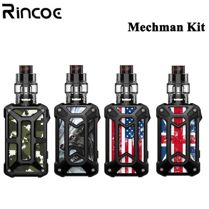 Origina Rincoe Mechman Mesh 228w Kit VW TC TCR BYPASS Mode Electronic Cigarettes with Rincoe Mesh