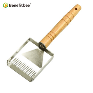 Image 5 - Benefitbee di Marca il Miele Uncapping Raschietto Uncapping Forcella A Nido Dape Honey Raschietti Strumento di Apicoltura Apicoltura Attrezzature