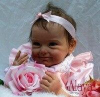 מתנות Brinquedos Bonecas Bebe יילוד בחיים reborn ייבי דול עבור בנות יום הולדת מתנה לחג המולד בובות reborn מציאותי רך
