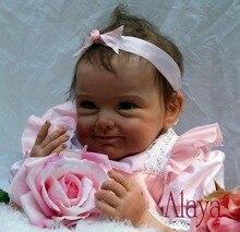 Reborn bébé poupée nouveau-né Bebe En Vie Brinquedos Bonecas cadeaux pour Filles D'anniversaire Cadeau De Noël poupées reborn réaliste doux