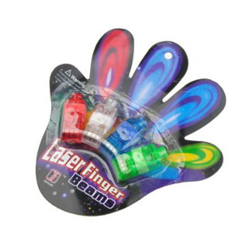 LeadingStar 40 шт. многоцветный яркий светодиодный кольцо-лазер на палец свет лампы лучи факел для вечерние KTV бар подарок Лидер продаж
