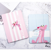 PU Leather Cartoon Cover Case For iPad 9.7 2017 2018 A1822 A1893 Funda Tablet Case Stander Smart Cover For iPad Air1 Air2 A1474 цена 2017