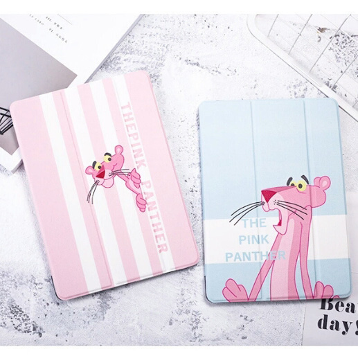 PU Leather Cartoon Cover Case For iPad 9.7 2017 2018 A1822 A1893 Funda Tablet Case Stander Smart Cover For iPad Air1 Air2 A1474