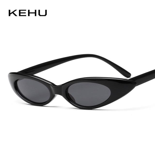 0ed77aa76aea8 KEHU Lady Cat Eye Sunglasses Water Drop Shape Fashion Sunglasses Sunglasses  Women Brand designer design UV400