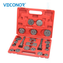 21pcs Brake Caliper Piston Rewind Wind Back Tools Kit Disc Brake Caliper Pump Regulator Car Repair