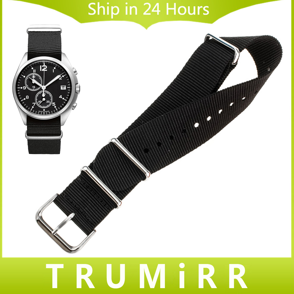 Nylon Watchband + Tool for Hamilton Men Women Watch Band NATO Strap Army Fabric Wrist Belt Bracelet Multi Colors 18mm 20mm 22mm