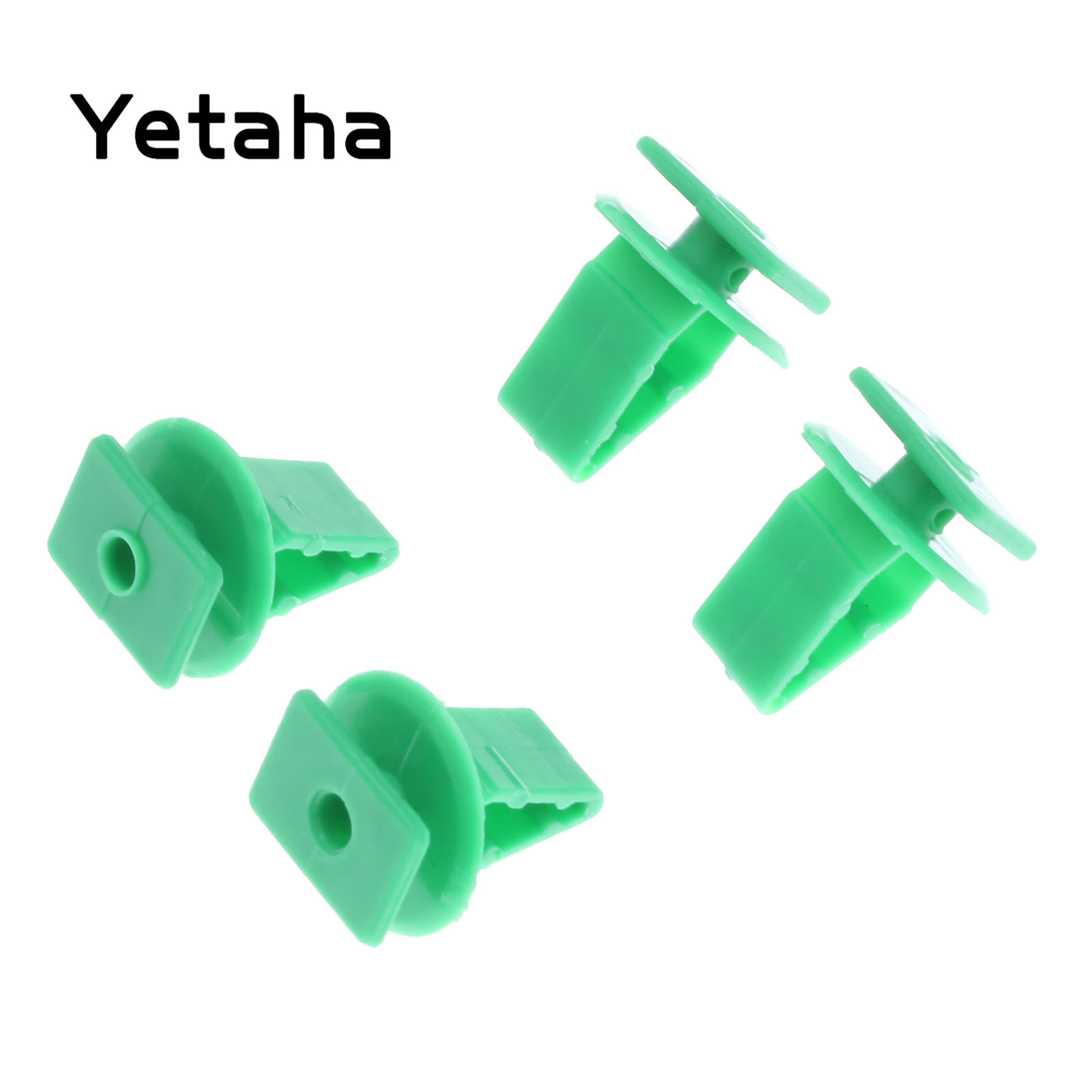 50Pcs Car Trim Retainers Plate Guard Windshield Clips Fasteners for Honda Acura