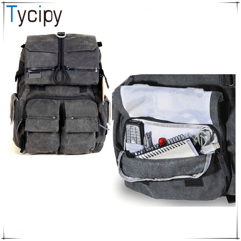 Tycipy High Quality Camera Bag Multi-functional Digital DSLR Camera Video Bag Waterproof Backpack for Photography Photo Camera
