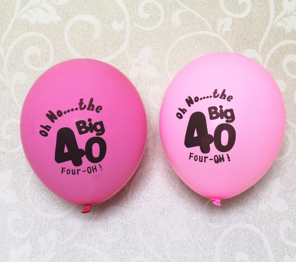 Korean Themed Party Decorations Popular 40th Birthday Decorations Buy Cheap 40th Birthday