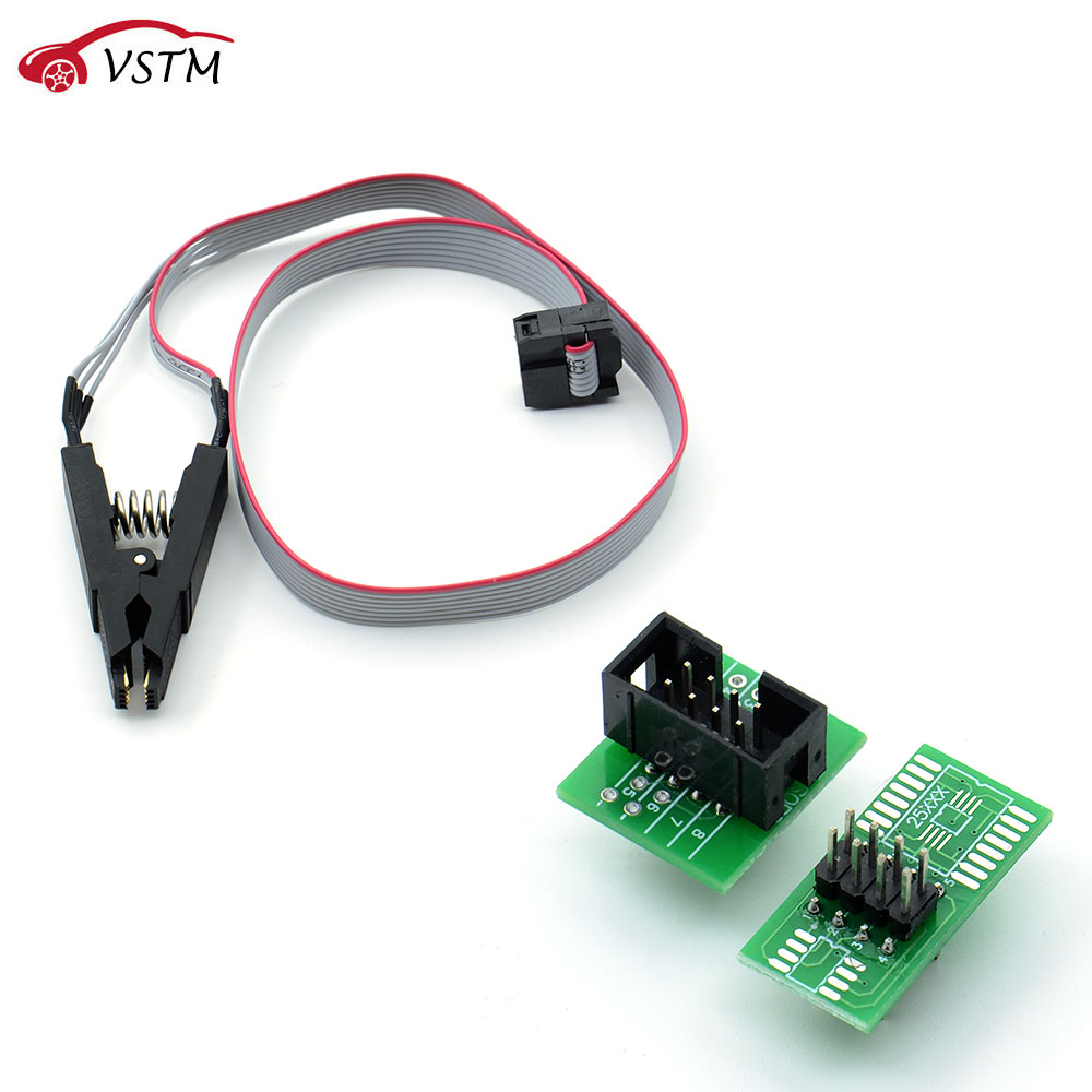 VSTM SOIC8 SOP8, флэш-чип, стандартная розетка, адаптер BIOS/24/25/93, программатор