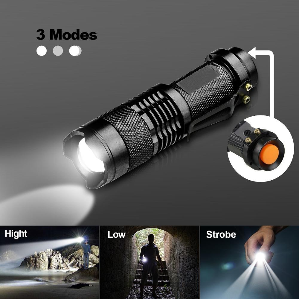 LED Mini Flashlights, WdtPro Super Bright Flashlight With Lanyard, Assorted Colors - Best Tac Torch Light For Kids