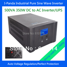 350W energy inverter 350w inverter generator I-P-XD-500VA pure sine wave inverter charger UPS DC12V DC24V