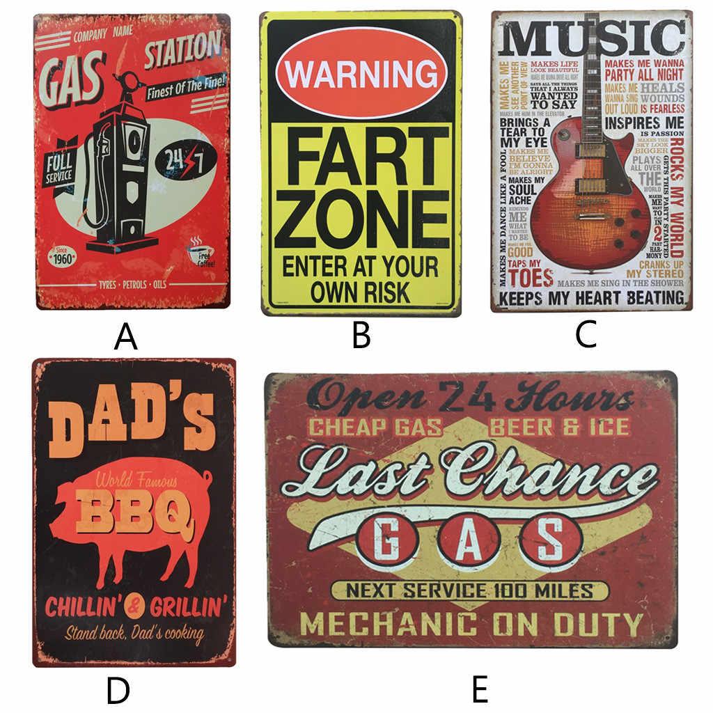 Europäischen Und Amerikanischen Vintage Metall Zinn Zeichen Home Bar Pub Dekorative Metall Platten ICH LIEBE BIER Wand Aufkleber Simpsons Poster