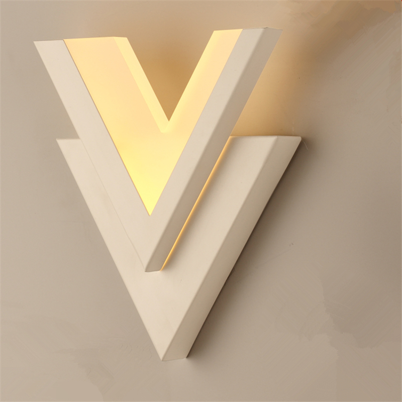 Nordic designer modern wall lamp led wall light fixtures nordic designer modern wall lamp led wall light fixtures contemporary design kitchen stair bathroom mirror home lightingwll 310 in wall lamps from lights aloadofball