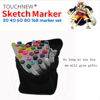Finecolour Six Generations Copic Markers Alcohol Oily Hand Painted Cartoon Design 30 36 40 Colors Manga