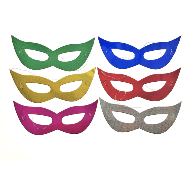 real scary mask 30pcslot best costume prop simple style toys paper masks birthday supplies - Costume Props