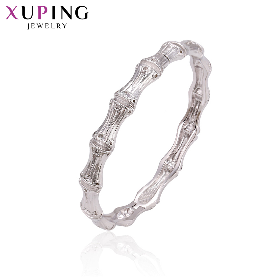 11,11 сделок Xuping мода простой браслет родий Цвет покрытием украшения для Для женщин Рождество подарки S72-51678