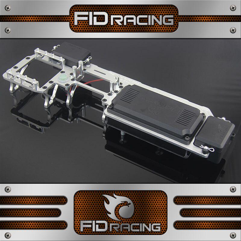 FIDRACING dual servo tray savox 0236 servo for Losi 5ive t kmx2 rovan LT
